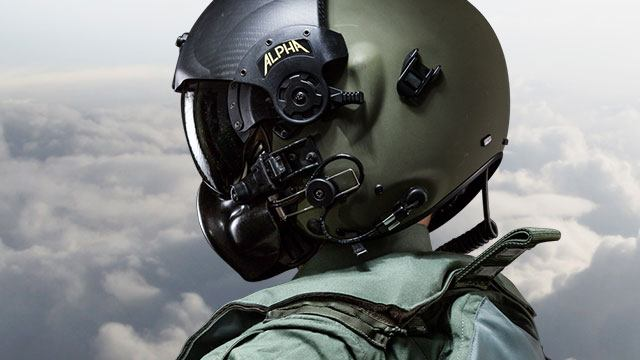ALPHA 900 Cross-Platform Helmet Systems - Gentex